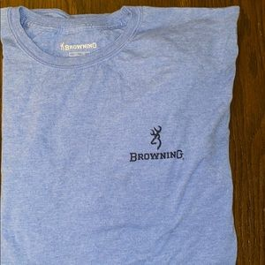 Blue Browning T-Shirt
